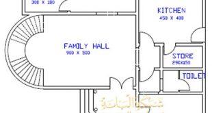 صورة اجمل خرائط المنازل الصغيرة