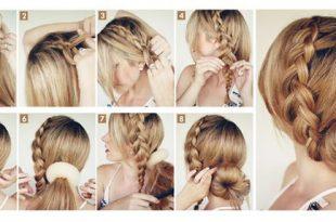 صور تعليم مشط الشعر