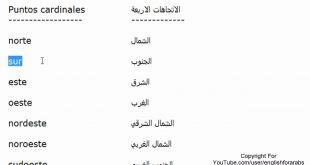 صور تعليم اللغة الاسبانية بالعربية