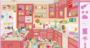 صورة لعبة البحث عن الاشياء المفقودة في المطبخ