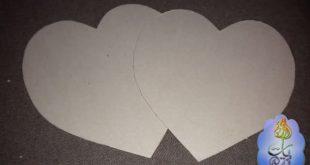 صورة صنع قلب من الورق
