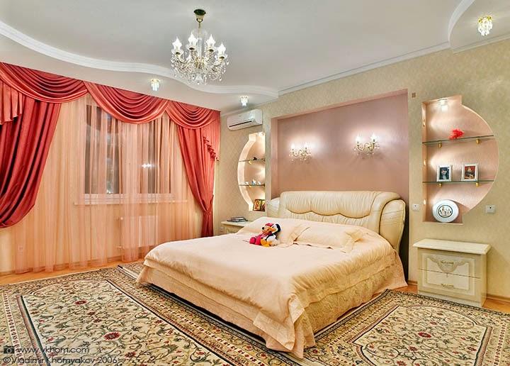 افكار رائعة لغرف النوم الرومانسيه