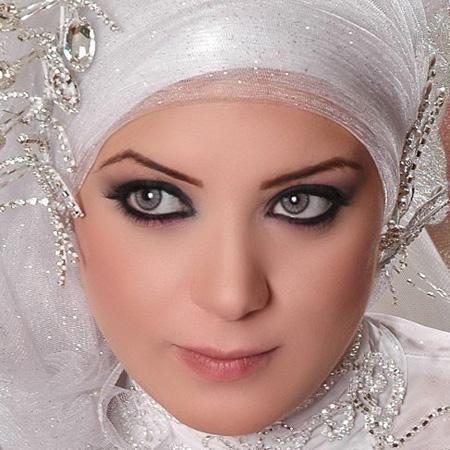 بالصور احدث لفات طرح زفاف 2019 , لكل عروسة تحب الابداع في الزواج والتميز 20160803 1303