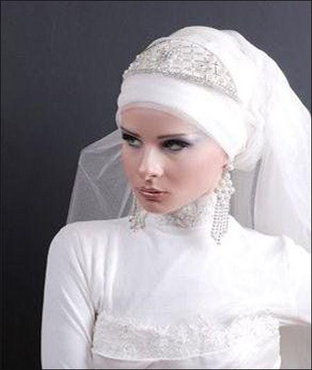 بالصور احدث لفات طرح زفاف 2019 , لكل عروسة تحب الابداع في الزواج والتميز 20160803 1304