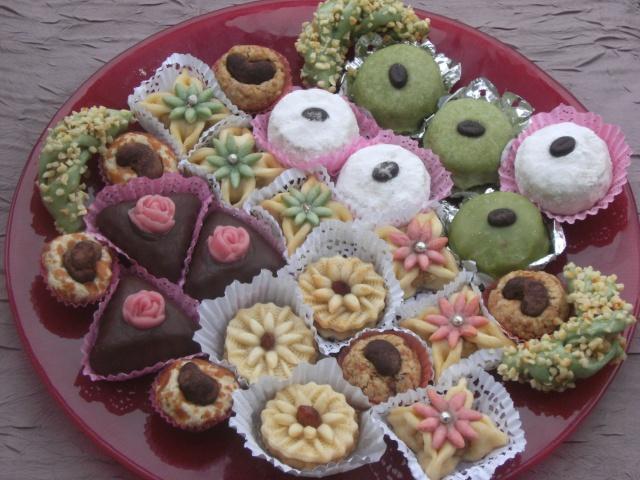 صورة حلويات الافراح الجزائرية