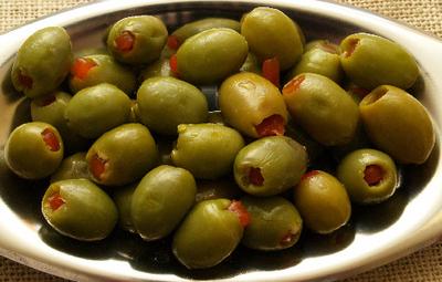 صور طريقة عمل الزيتون الخضر