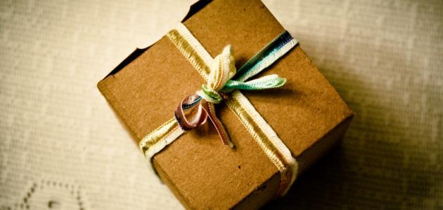 صور كيفية صنع علب هدايا