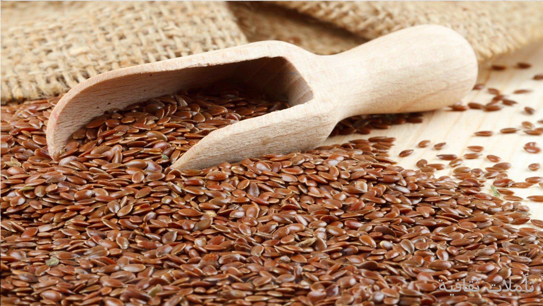 صور فوائد واضرار بذرة الكتان