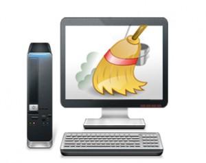 صور تنظيف جهاز الكميوتر من الفايروس