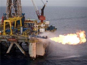 صورة استخراج الغاز الطبيعي