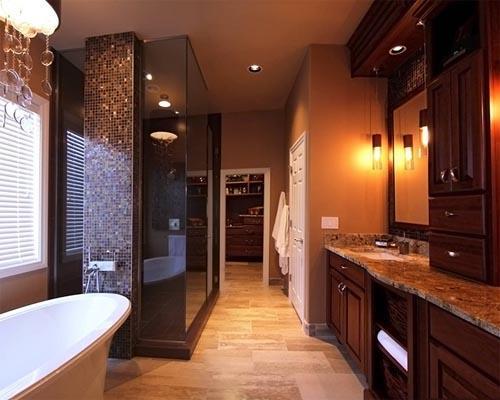 صورة ديكورات حمامات صغيرة