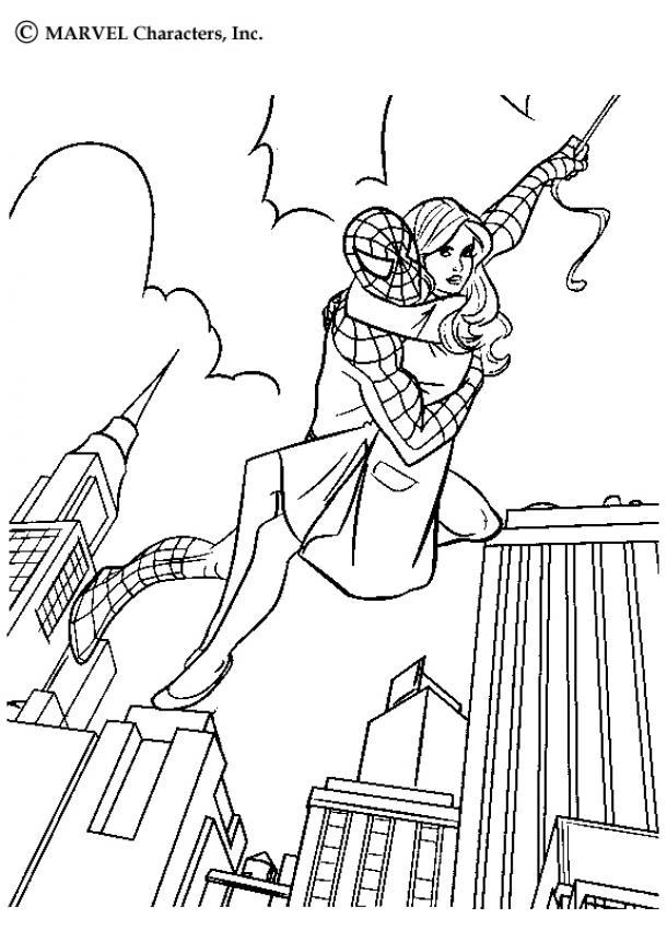 - Coloriage spiderman black ...