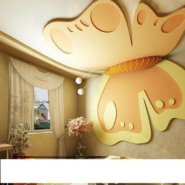 ديكور فراشة ديكورات اسقف جبس ديكورات اسقف جبس احلى 10 افكار لتبتكر سقفا متميزا لمنزلك kids room gypsum ceiling design orangebutterfly gypsum ceiling