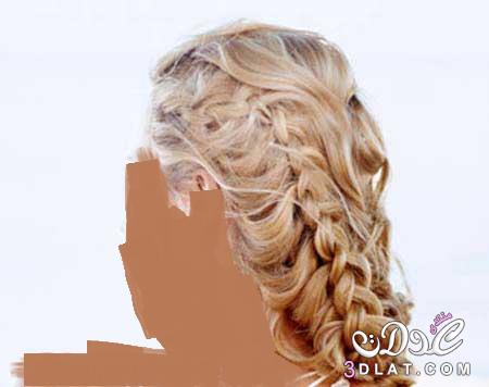 صور اخر تسريحات الشعر الطويل
