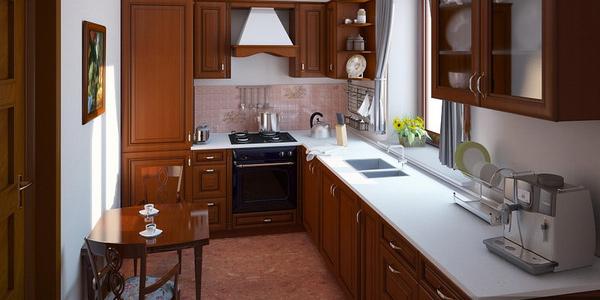 صور مطابخ صغيرة ديكورات مطابخ صغيرة المساحة ديكورات مطابخ صغيرة المساحة و افكار تساعدك في التصميم 4 flooring