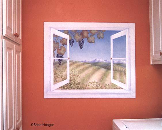صور رسم قولب الوان حوائط