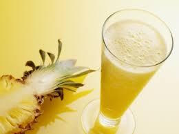 صور طريقة عمل عصير الاناناس