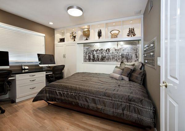 تصصاميم لاستغلال غرف النوم الضيقه