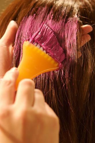 صورة اضرار صبغة الشعر ع الحامل