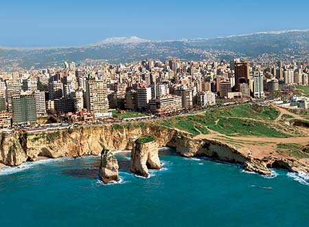 صور كم تبلغ مساحة دولة لبنان