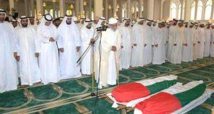 وقيمت صلاة الجنازة،صور لصلاة الجنازة