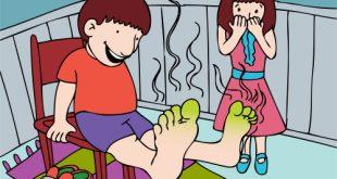 صور رائحة القدم وعلاجها
