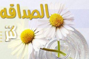 صوره مقولات مدح الصديق