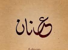 صورة معنى اسم عدنان