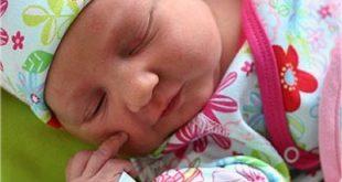صورة الطفل في الشهر 3