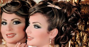 صور تسريحات للعروس الجزائرية