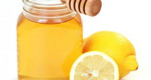 العسل والليمون للزكام