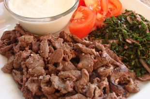 صور طريقة الشاورما لحم