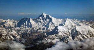صورة كم يبلغ ارتفاع قمة افرست