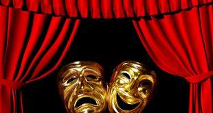 صور نص الموضوع على المسرح