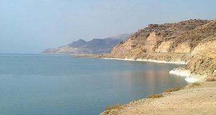موقع البحر الميت الجغرافي