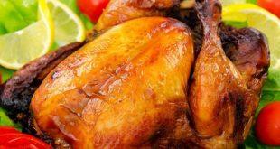 صور دجاج مشوي في الفرن