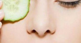 صور طريقة ازالة السواد من تحت العين