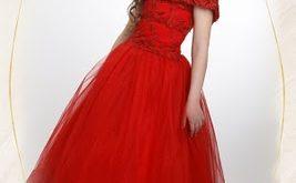 صور صور اطفال بفستان احمر