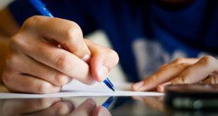 كتابة رسالة عمل