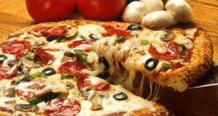 صور بيتزا بالتونة والبصل