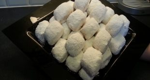 حلوى بوسو لا تمسو بالصور