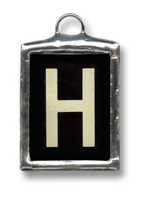 صور حرف h , الحرف مزخرف