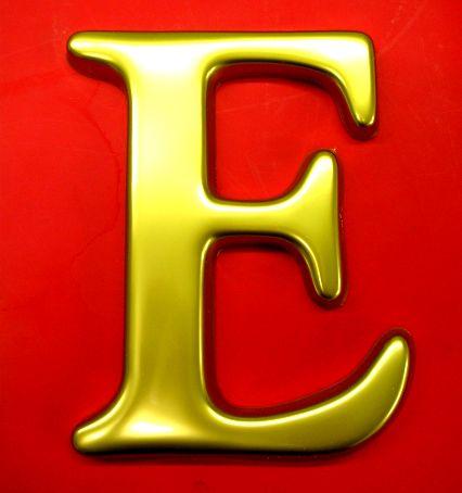 صورة صور حرف e, بشكال مختلفة