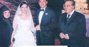 سارة امام , ابنة الفنانة عادل امام يوم زفافها