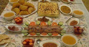 صورة فطار رمضان اجمل فطور رمضاني , احلى اكلات الافطار