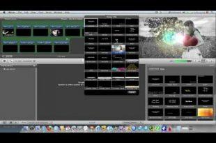 صور شرح برنامج imovie للماك