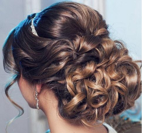 صورة تسريحات شعر العروس الجزائرية 2019 126802 1
