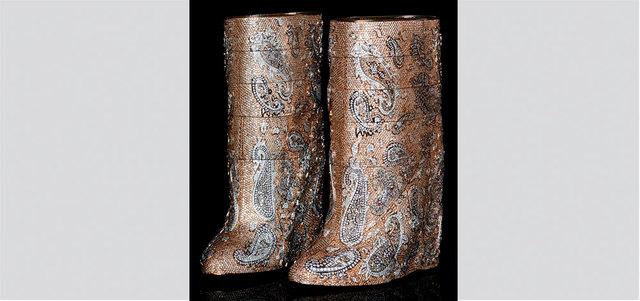 صورة اغلى حذاء في العالم