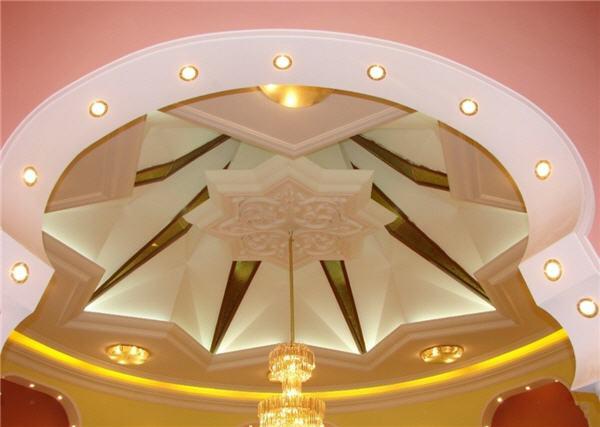 صورة اسقف معلقة غرف نوم ، موديلات عصرية