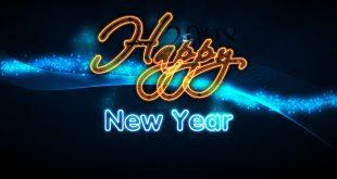صورة مسجات راس السنة 2019 , رسائل السنة الجديدة